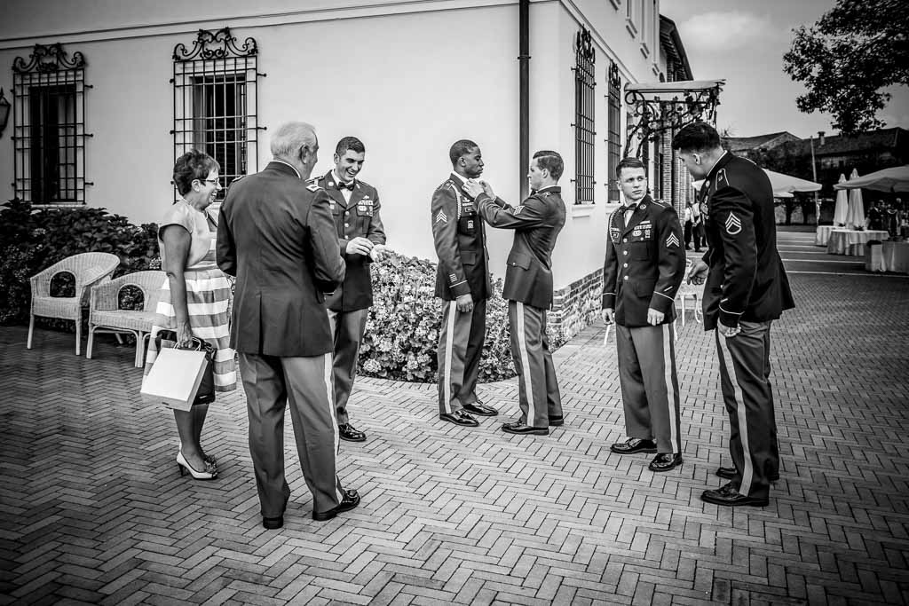 Wedding Photographer Military - Michela & Andrew - August 10th 2014