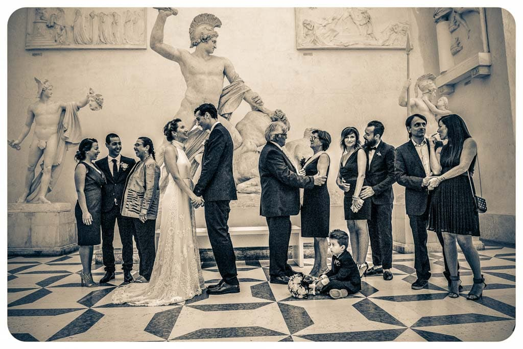 Wedding Photographer Gipsoteca Canova - Augusta & Max - July 12th 2014