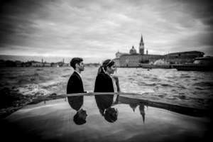 Alternative Marriage Venice   Quentin & George Wedding   8th October, 2016